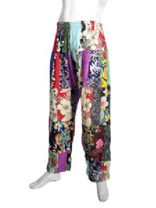 Hippy Trousers~Ethnic Unisex Patchwork Trousers~Fair Trade By Folio Gothic Hippy~BP2